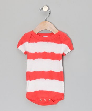 Red Stripe Bodysuit - Infant