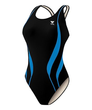 Black & Blue Alliance Splice Max Fit One-Piece