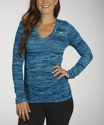 Turkish Tile Slimming Burnout Tee
