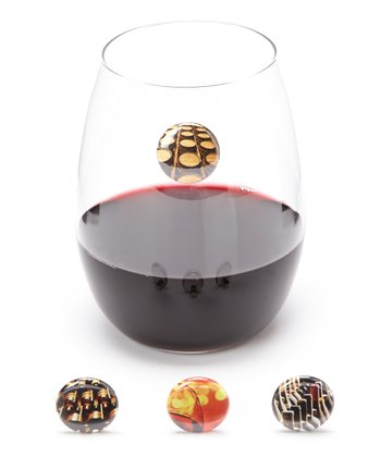 The Barrel Wine Charm Set