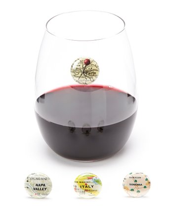 Wine Tour Wine Charm Set