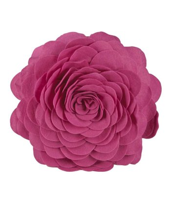 Rose Petals Round Throw Pillow