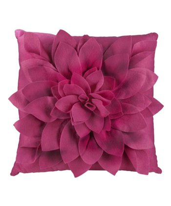 Rose Petals Square Throw Pillow