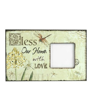 'Bless Our Home' Frame
