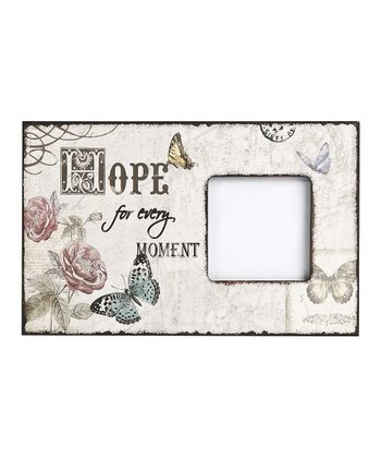 Butterfly 'Hope' Frame