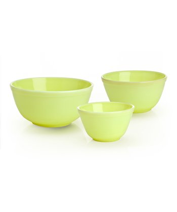 Buttercream Mixing Bowl Set