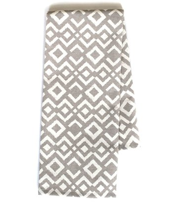 Gray Ikat Tea Towel - Set of Two