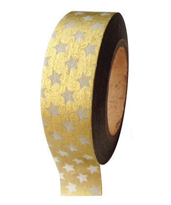 Gold Mini Stars Tape