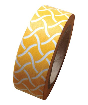 Yellow Garden Trellis Washi Tape