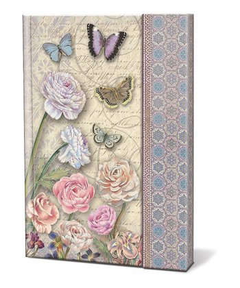 Butterfly Dance Magnet Clasp Closure Journal