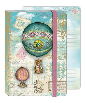 Hot Air Balloons Soft Cover Bungee Journal
