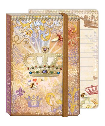 Crown Soft Cover Bungee Journal