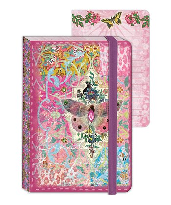 Butterfly Tapestry Enchantment Mini Journal - Set of Two