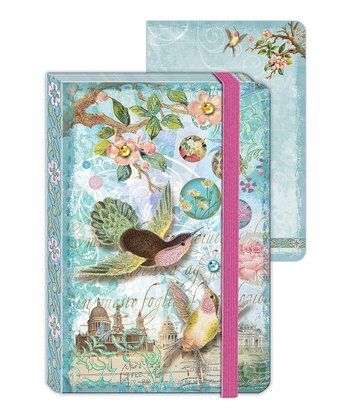 Hummingbird Wishes Enchantment Mini Journal - Set of Two