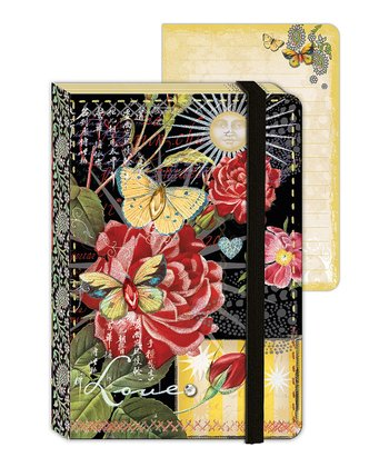 Spendid Rose Enchantment Mini Journal - Set of Two