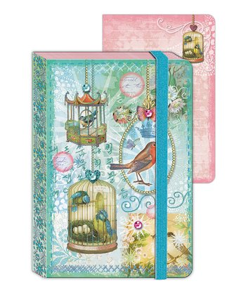 Song Birds Enchantment Mini Journal - Set of Two