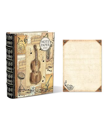 Got the Music Embellished Note Paper Book Box