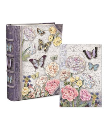 Butterfly Dance Embellished Keepsake Box & Notecard Set