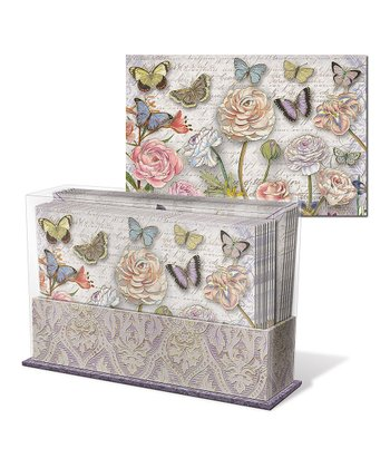 Butterfly Dance Keepsake Desk Set