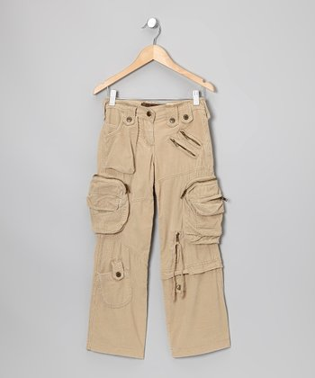 Dune 'Love' Corduroy Cargo Pants - Girls