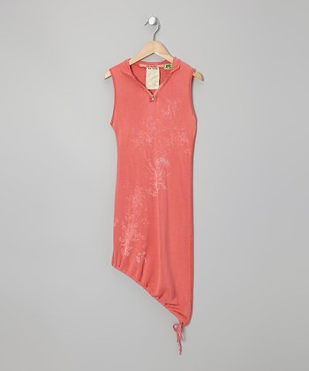 Punch Silk Asymmetrical Tank - Girls