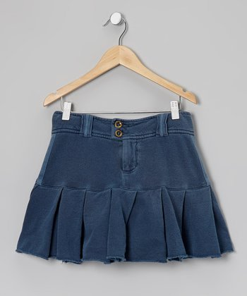 Ink Pleated Skirt - Girls