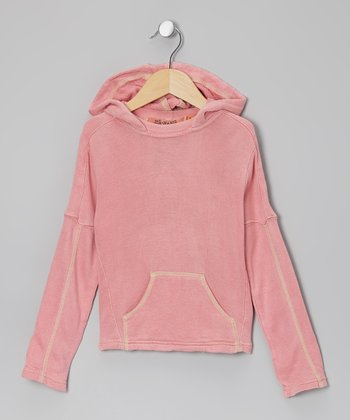 Punch Silk-Blend Hoodie - Girls
