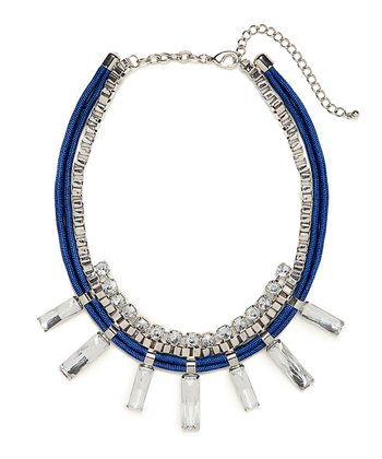 Cobalt Cyndi Collar Necklace