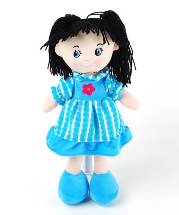 Blue 15.5'' Camile Doll