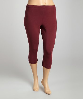 Syrah Organic Capri Leggings - Plus