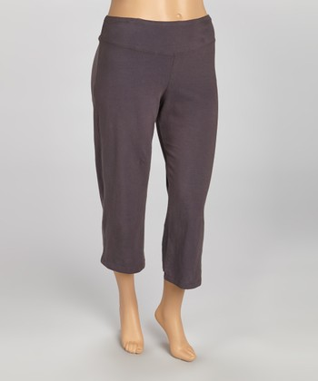 Mercury Organic Loose Capri Pants - Plus