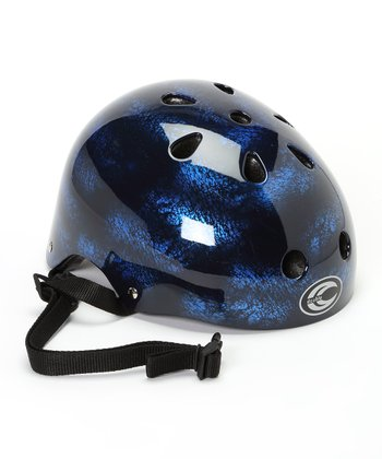 Wave Blue Helmet