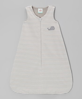 Gray Stripe Sleeping Sack - Infant