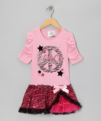 Paris Pink 'Peace' Dress