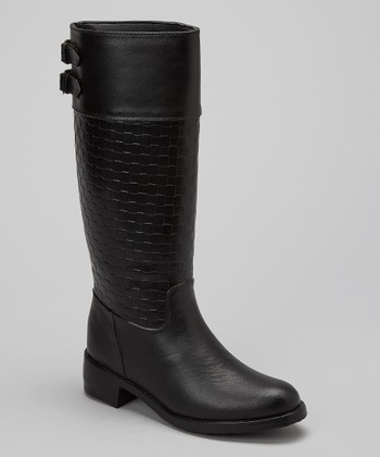 Black Brick Rain Boot