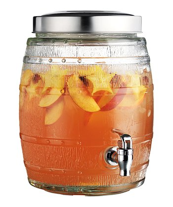 Del Sol Barrel 1.32-Gal. Beverage Dispenser