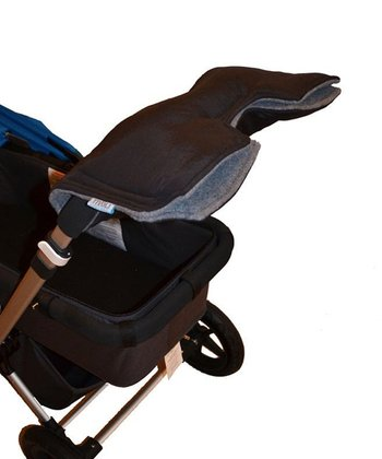 New York Brown & Gray Stroller Hand Muff