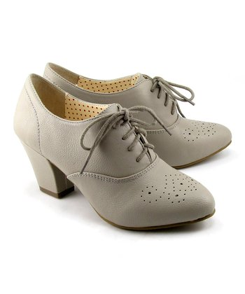 Gray Harrow Oxford Pump