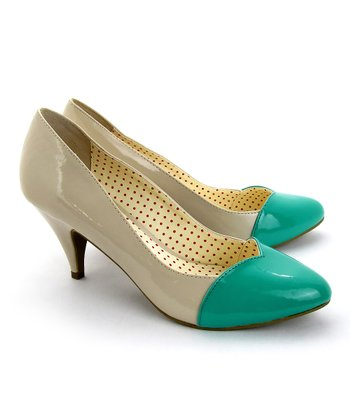 Teal Heart Pump