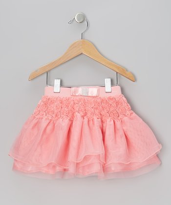 Coral Rosette Skirt - Infant, Toddler & Girls