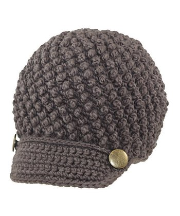 Mocha Crocheted Cap