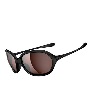 Black & Gray Warm Up Polar Sunglasses - Women