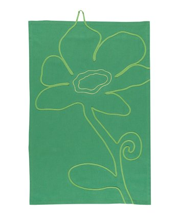 Iksha Applique Tea Towel - Set of Two