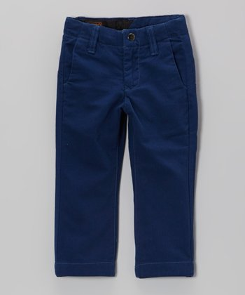Vintage Navy Chino Pants - Toddler & Boys