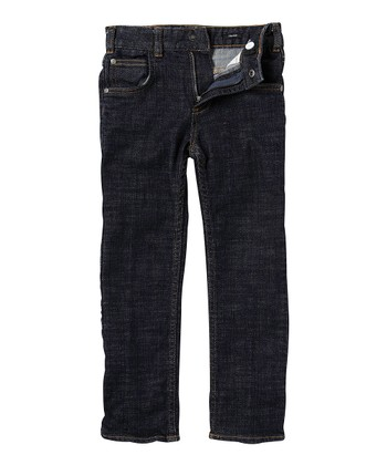 Medium Wash Straight-Leg Jeans - Toddler & Boys
