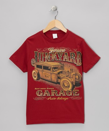 Garnet 'Junkyard' Tee - Toddler & Boys