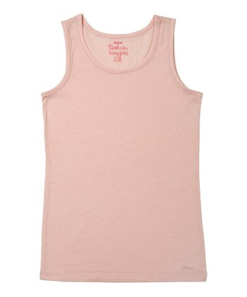 English Rose Solid Tank - Girls