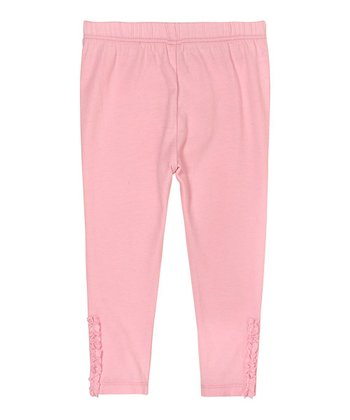 Pink Lady Ruffle Leggings - Infant