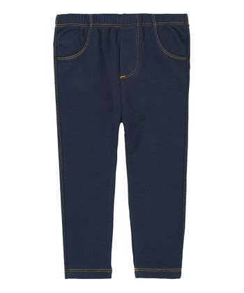 Navy Jeggings - Infant