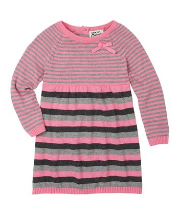 Peony Stripe Dress - Infant